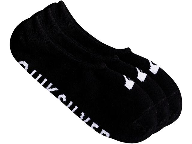 Quiksilver Liner Chaussettes Pack de 3, black